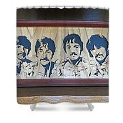 Beatles Sgt Pepper Shower Curtain