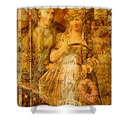 Beatrice And Benedick Shower Curtain