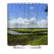 Beaufort Intracoastal Waterway Shower Curtain