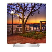 Beaufort Waterfront Shower Curtain