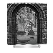 Beauly Priory Arch Shower Curtain