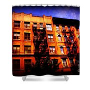 Beautiful Architecture Of New York - Ship Of State Shower Curtain