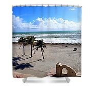 Beautiful Atlantic  Shower Curtain
