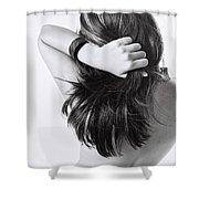 Beautiful Back Shower Curtain