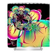 Beautiful Balloon Bouquet Fractal 57 Shower Curtain