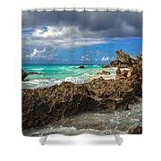 Beautiful Bermuda Shower Curtain