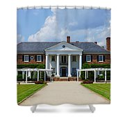 Beautiful Boone Hall Plantation Shower Curtain