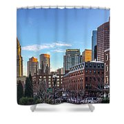 Beautiful Boston Shower Curtain