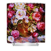 Beautiful Bouquet Shower Curtain