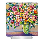 Beautiful Bouquet Shower Curtain