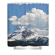 Beautiful Bow Lake Shower Curtain