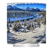 Beautiful Bow Valley Shower Curtain