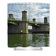 Beautiful Bridge Of Lions Shower Curtain