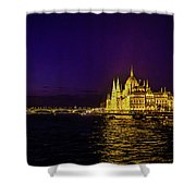 Beautiful Budapest Parliament Shower Curtain
