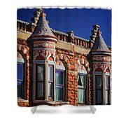 Beautiful Building Details  Shower Curtain