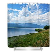 Beautiful Calm Waters Shower Curtain