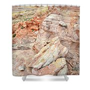 Beautiful Color In Wash 3 Of Valley Of Fire Shower Curtain