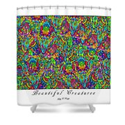 Beautiful Creatures Shower Curtain