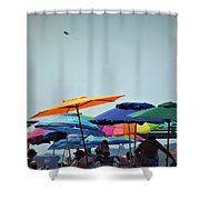 Beautiful Day For The Beach Shower Curtain