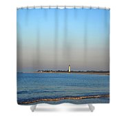 Beautiful Day In Cape May Shower Curtain