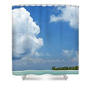 Beautiful Day In Tahiti Shower Curtain