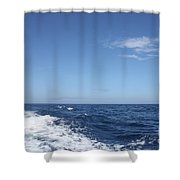 Beautiful Day On The Atlantic Ocean Shower Curtain