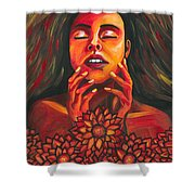 Beautiful Demon Shower Curtain