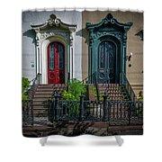 Beautiful Doors On Bull Street Shower Curtain