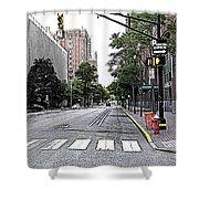 Beautiful Downtown Hoboken  Shower Curtain