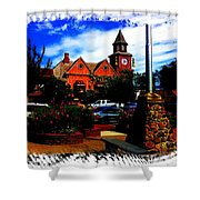 Beautiful Downtown Solvang Shower Curtain