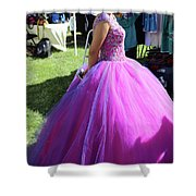 Beautiful Dress Make Up Dad Of Dead  Shower Curtain