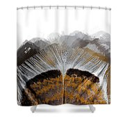 Beautiful Feather Shower Curtain