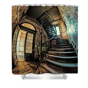 Beautiful Forgotten Staircase Shower Curtain