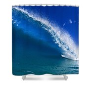 Beautiful Glassy Wave Shower Curtain