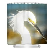 Beautiful In White Shower Curtain