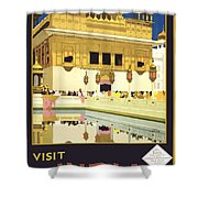 Beautiful India Poster Shower Curtain