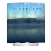 Beautiful Iowa Shower Curtain