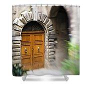Beautiful Italian Doorway Shower Curtain