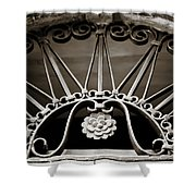 Beautiful Italian Metal Scroll Work 2 Shower Curtain