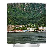 Beautiful Juneau Alaska Shower Curtain