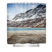 Beautiful Lake And Snow Mountain Shower Curtain