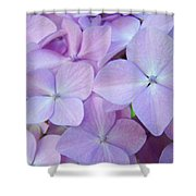 Beautiful Lavender Purple Hydrangea Flowers Baslee Troutman Shower Curtain