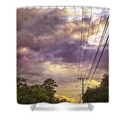 Beautiful Lines Shower Curtain