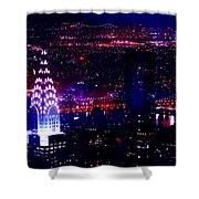 Beautiful Manhattan Skyline Shower Curtain