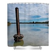Beautiful Manning Waters 6677 Shower Curtain
