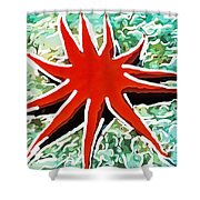 Beautiful Marine Plants 9 Shower Curtain