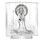Beautiful Monster Shower Curtain