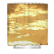 Beautiful Morming Sky  Shower Curtain