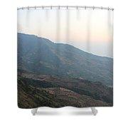 Beautiful Mountain Shower Curtain