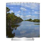 Beautiful Old Florida Shower Curtain